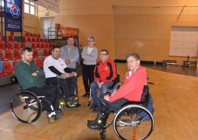 IV turniej eliminacyjny do Mistrzostw Polski w Bocci w Wągrowcu. Boccia 32 - Start Poznań