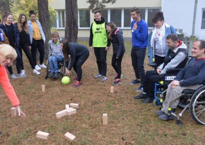 Project activity – event in Wągrowiec,Poland START Erasmus + Sport 8 - Start Poznań