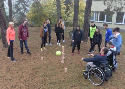 Project activity – event in Wągrowiec,Poland START Erasmus + Sport 4 - Start Poznań