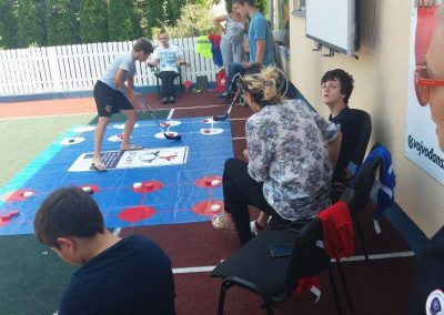 Project activity event in Macedonia START Erasmus + Sport 2 - Start Poznań
