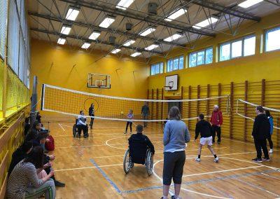 Project activity – Promotional event for students, Poznan , Poland START Erasmus + Sport 3 - Start Poznań