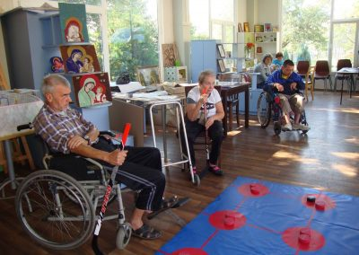 The Four Traditional Sport Games Presented to People with Disabilities from the Home for Adults with Disabilities – Kyustendil START Erasmus + Sport 2 - Start Poznań