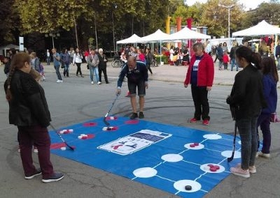 The Four Traditional Sport Games Presented to the Common Public in the town of Kyustendil During This Year's Festival of Fertility, 29th of September 2018 START Erasmus + Sport 2 - Start Poznań