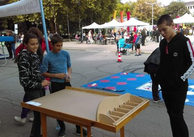 The Four Traditional Sport Games Presented to the Common Public in the town of Kyustendil During This Year's Festival of Fertility, 29th of September 2018 START Erasmus + Sport 3 - Start Poznań