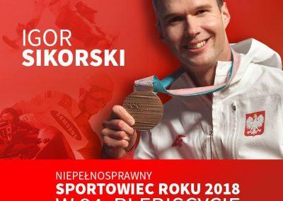 Michał Kotkowski wśród nominowanych do Niepełnosprawnego Sportowca Roku 2018 5 - Start Poznań