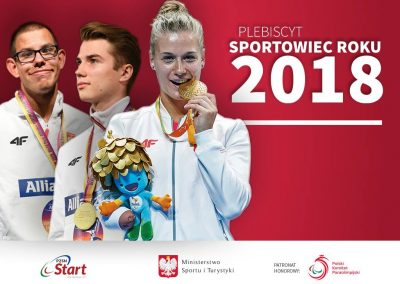 Top 10 w polskim sporcie paraolimpijskim w 2018 roku 1 - Start Poznań
