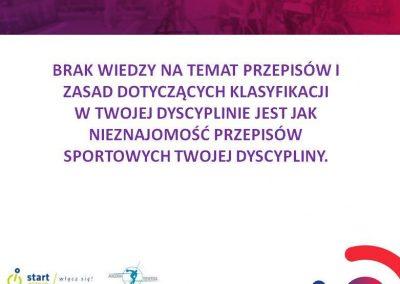 """Instytut Sportu – szkolenie Akademii Trenerskiej - """"Sport osób niepełnosprawnych - klasyfikacja medyczna zawodników"""" 2 - Start Poznań"""