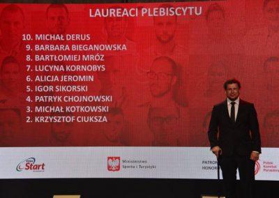 Wielkie święto polskiego sportu paraolimpijskiego - PREZYDENT NA GALI PARAOLIMPIJSKIEJ 7 - Start Poznań