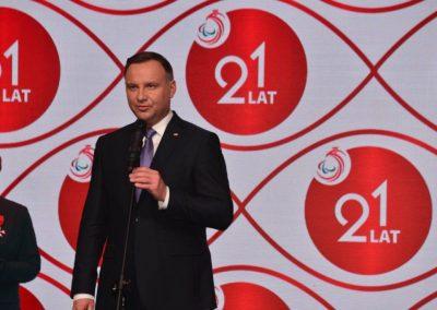 Wielkie święto polskiego sportu paraolimpijskiego - PREZYDENT NA GALI PARAOLIMPIJSKIEJ 8 - Start Poznań