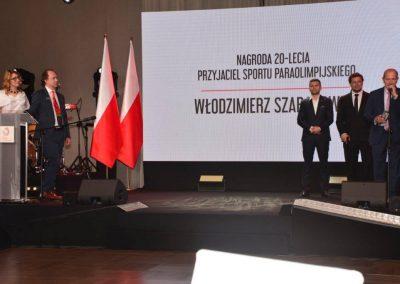 Wielkie święto polskiego sportu paraolimpijskiego - PREZYDENT NA GALI PARAOLIMPIJSKIEJ 9 - Start Poznań