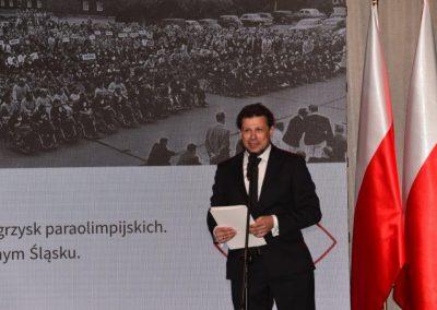 Wielkie święto polskiego sportu paraolimpijskiego - PREZYDENT NA GALI PARAOLIMPIJSKIEJ 48 - Start Poznań