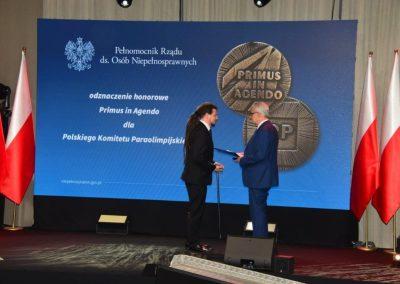 Wielkie święto polskiego sportu paraolimpijskiego - PREZYDENT NA GALI PARAOLIMPIJSKIEJ 53 - Start Poznań