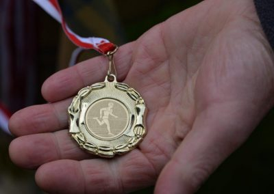 XXII Międzynarodowe Zawody w Czwórboju Lekkoatletycznym dla młodzieży niewidomej i słabowidzącej w Owińskach. 4 - Start Poznań