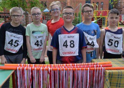 XXII Międzynarodowe Zawody w Czwórboju Lekkoatletycznym dla młodzieży niewidomej i słabowidzącej w Owińskach. 6 - Start Poznań