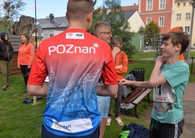 XXII Międzynarodowe Zawody w Czwórboju Lekkoatletycznym dla młodzieży niewidomej i słabowidzącej w Owińskach. 14 - Start Poznań