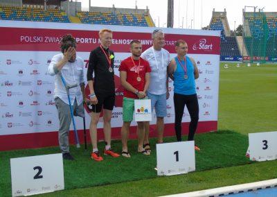 Sukcesy i medale lekkoatletów na 47 Paralekkoatletycznych Mistrzostwach Polski w Bydgoszczy  2 - Start Poznań