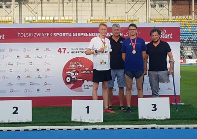 Sukcesy i medale lekkoatletów na 47 Paralekkoatletycznych Mistrzostwach Polski w Bydgoszczy  3 - Start Poznań