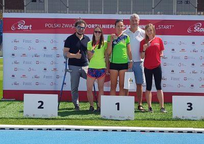 Sukcesy i medale lekkoatletów na 47 Paralekkoatletycznych Mistrzostwach Polski w Bydgoszczy  6 - Start Poznań