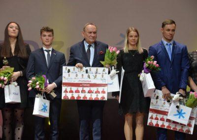 Nagrody i wyróżnienia dla ludzi sportu na X jubileuszowej Poznańskiej Gali Sportu 10 - Start Poznań
