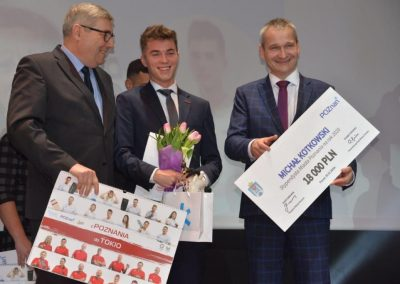 Nagrody i wyróżnienia dla ludzi sportu na X jubileuszowej Poznańskiej Gali Sportu 9 - Start Poznań