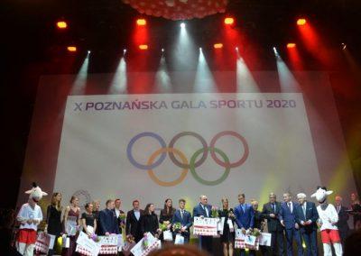 Nagrody i wyróżnienia dla ludzi sportu na X jubileuszowej Poznańskiej Gali Sportu 5 - Start Poznań