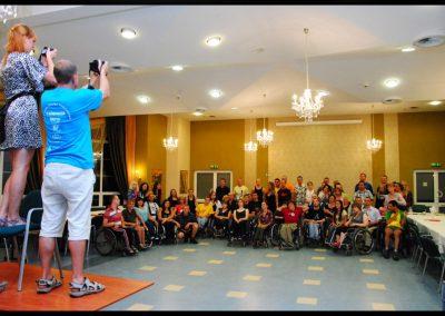 Aktywna rehabilitacja + H2O 2011  1 - Start Poznań