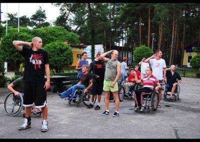 Aktywna rehabilitacja + H2O 2011  8 - Start Poznań