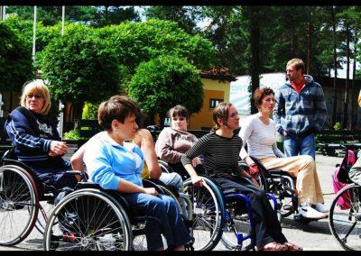 Aktywna rehabilitacja + H2O 2011  23 - Start Poznań