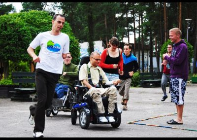 Aktywna rehabilitacja + H2O 2011  24 - Start Poznań