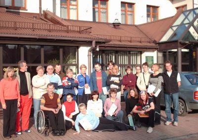 Boccia historia dyscypliny 1992-2015 5 - Start Poznań