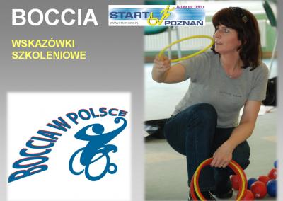 Boccia historia dyscypliny 1992-2015 7 - Start Poznań