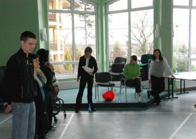 Boccia kurs sędziowski w Wągrowcu 2010 33 - Start Poznań
