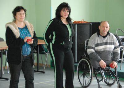 Boccia kurs sędziowski w Wągrowcu 2010 38 - Start Poznań