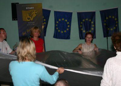 Europa bez barier Projekt UE Wągrowiec 2004 Europa bez barier Projekt UE Wągrowiec 2004 15 - Start Poznań