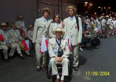 Igrzyska Paraolimpijskie Ateny 2004  6 - Start Poznań