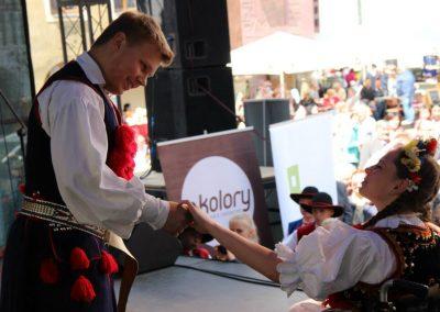 Klub tańców integracyjnych Kids Folk festival 2014 1 - Start Poznań