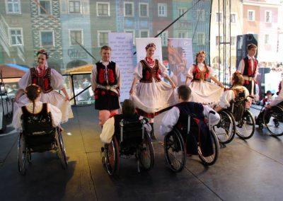 Klub tańców integracyjnych Kids Folk festival 2014 7 - Start Poznań