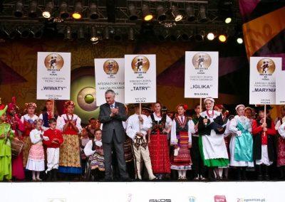 Klub tańców integracyjnych Kids Folk festival 2014 8 - Start Poznań