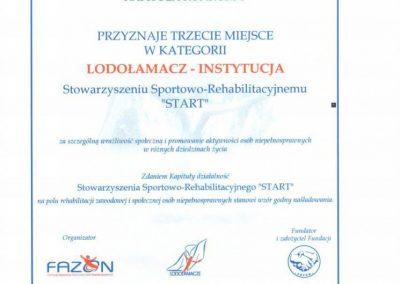 Lodołamacz dla Startu 2013 2 - Start Poznań