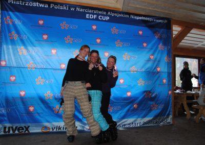 Mistrzostwa Polski SKI- Czarna Góra 2011  1 - Start Poznań
