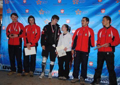 Mistrzostwa Polski SKI- Czarna Góra 2011  6 - Start Poznań
