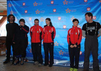 Mistrzostwa Polski SKI- Czarna Góra 2011  9 - Start Poznań