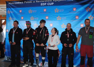 Mistrzostwa Polski SKI- Czarna Góra 2011  17 - Start Poznań