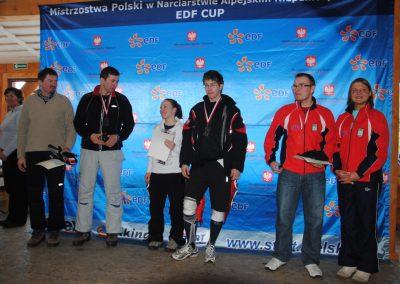 Mistrzostwa Polski SKI- Czarna Góra 2011  22 - Start Poznań