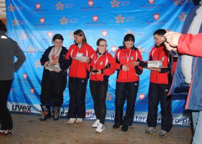 Mistrzostwa Polski SKI- Czarna Góra 2011  24 - Start Poznań