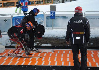 Mistrzostwa Polski SKI- Czarna Góra 2011  28 - Start Poznań