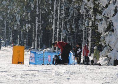 Mistrzostwa Polski SKI- Czarna Góra 2011  30 - Start Poznań