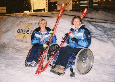 Mistrzostwa Świata Ski Anzere 2000  23 - Start Poznań