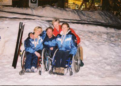 Mistrzostwa Świata Ski Anzere 2000  22 - Start Poznań