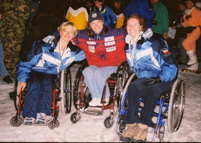 Mistrzostwa Świata Ski Anzere 2000  21 - Start Poznań